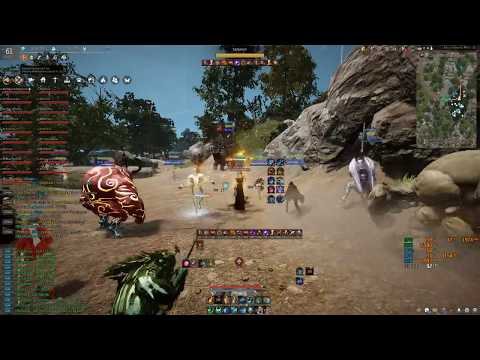 bdo Snake 12/17/18 Rhutum Outstation node war (No Sound)