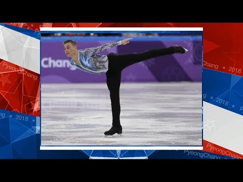 US figure skater makes history at Winter Olympics
