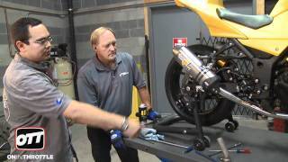 Performance Upgrades Ninja 250 Leo Vince Full Exhaust