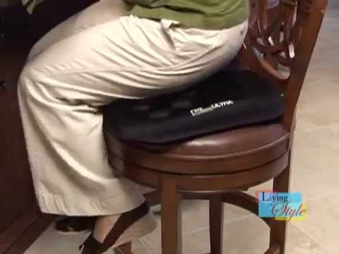gseat gel seat cushion as seen on tv youtube