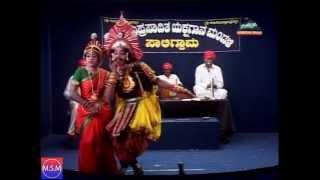 Yakshagana by Prasanna Shettigar, Hakladi Ravi and Raghavendra Mayya