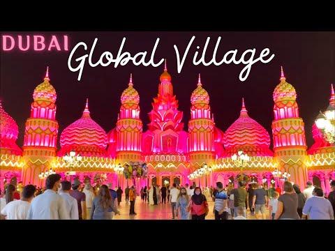 GLOBAL VILLAGE 2020 – 21 | Season 25 | Full Tour in HD | Dubai Global Village Tour