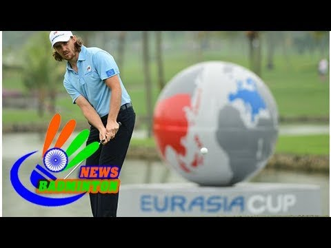 Tommy fleetwood relishing 'crunch day' in eurasia cup