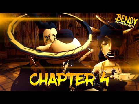 Bendy & The Ink Machine Chapter 4 FULL Playthrough || Bendy & The Ink Machine Chapter 4 Ending
