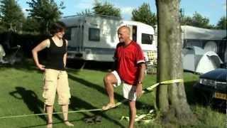 Koorddansen op Camping de Bosrand Sint Geertruidd