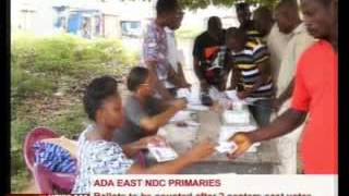 NDC Primaries - Ballots of 2 centers to be counted tomorrow