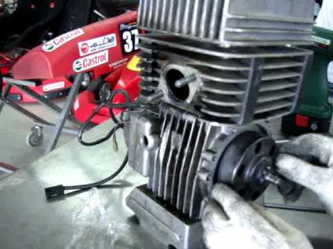 8 Yamaha Kt 100 Karting Installed With Racing Clutch