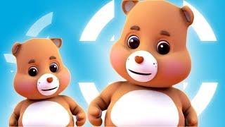 ursinho pelúcia Virar Poraí rima | Teddy Bear Teddy Bear Turn Around | Childrens Songs And Rhymes