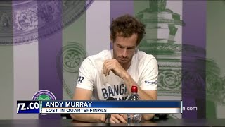 'Male player!' Andy Murray corrects reporter at Wimbledon