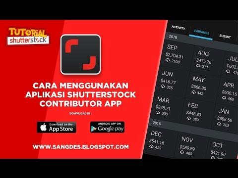 Cara Menggunakan Aplikasi Shutterstock  Contributor App