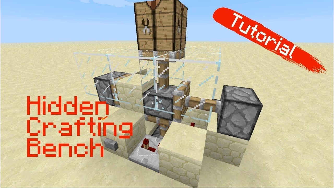 1 5 Compact Hidden Crafting Bench Or Whatever Tutorial Youtube