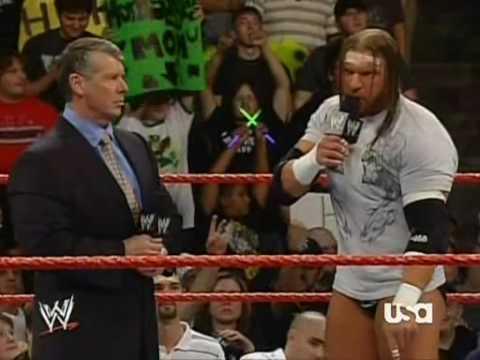 Triple H Demands His Rematch Against Randy Orton