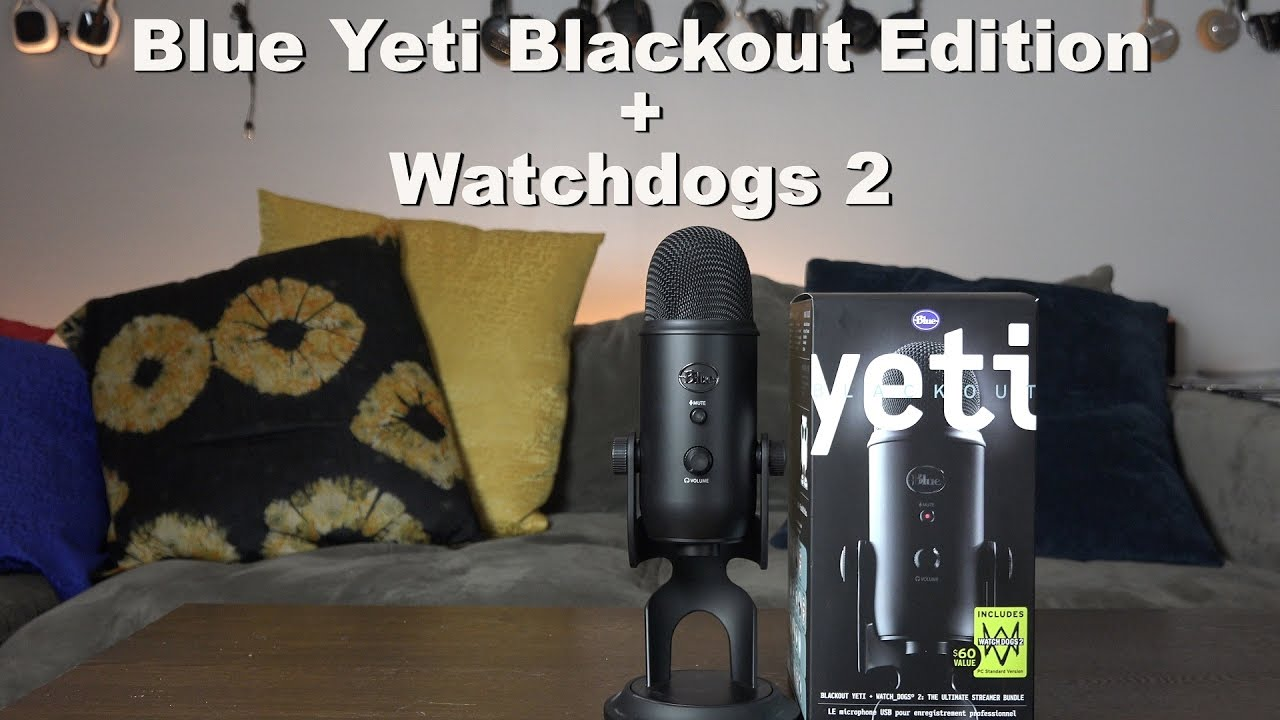 Blue Yeti Microphone Unboxing & Overview (Audio Test) - YouTube