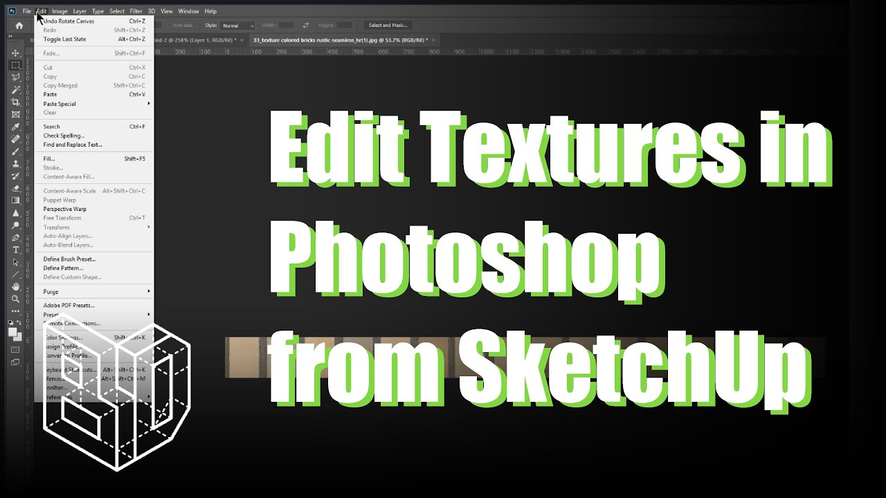 SketchUp and Photoshop Compatibility with Texture Manipulation