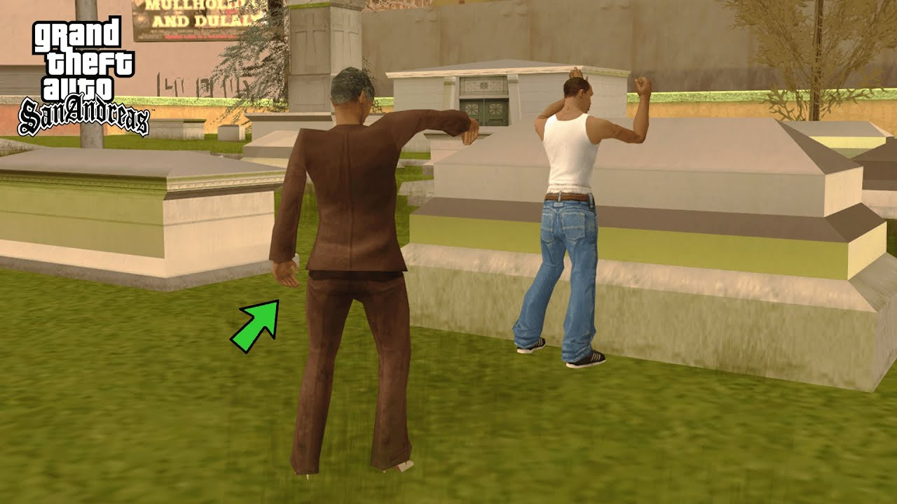 How To Find CJ's Mom in GTA San Andreas! (Alternate Mission)