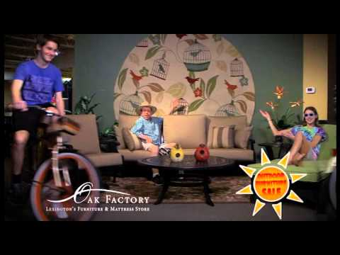 OAK FACTORY OUTDOOR FURNITURE COMMERCIAL