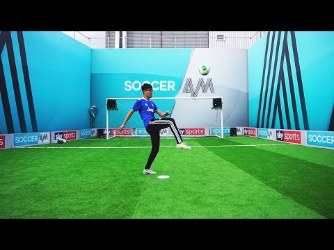 I Went On Live TV!? - AKKA 3000 Trickshot with SoccerAM
