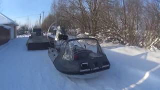 Аэролодка Дракон 350  21 S тест   Airboat Dragon