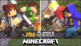 Minecraft: MINI-GUERRA - GALUDOS Vs Chumadores !! #ChumaLudos