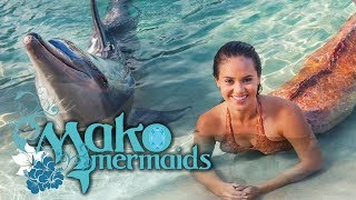Transformation before a dolphin? Mimmi & the dolphins | Mako Mermaids