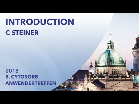 Dr. Christian Steiner, CytoSorbents | 2018 | Leipzig