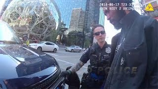 Delusional Seattle Homeless Man Attacks Passerby: Police Response & Investigation