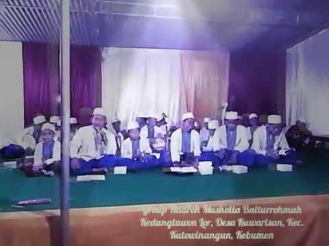 Eman Eman Temen Sholawat Hadroh Musholla Baiturrohmah Kuwarisan