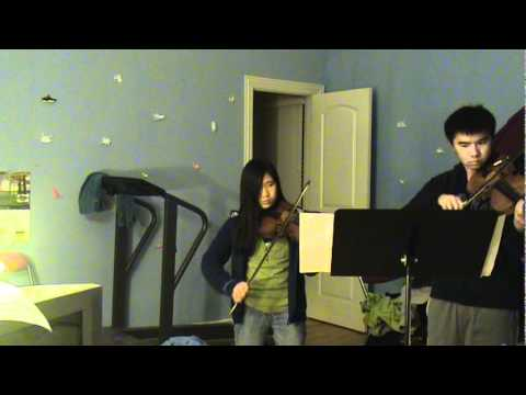 Nuvole Bianche (Violin Duet Arrangement)