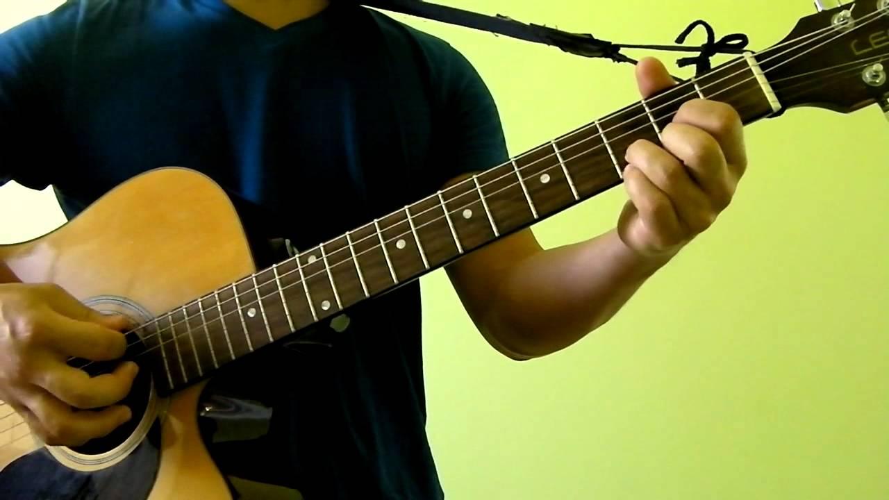 Set Fire To The Rain Adele Easy Guitar Tutorial No Capo Youtube