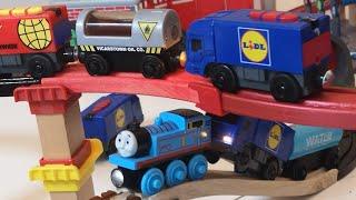 Thomas and Friends, Around the Town, Brio Smart washing Machine, wild Animals, play videos for kids