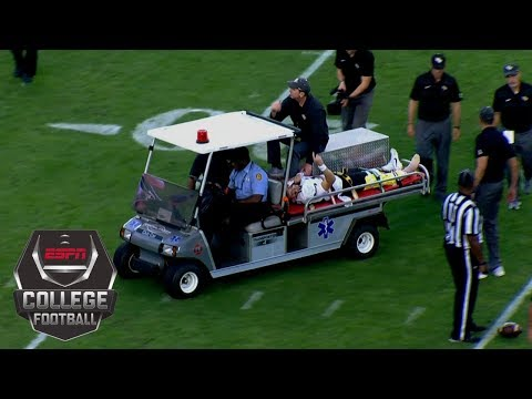 UCF QB McKenzie Milton&#;s serious leg injury | College Football