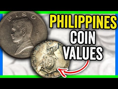 PHILIPPINES PESO COINS WORTH MONEY - INTERNATIONAL WORLD COINS!!