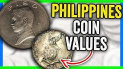 PHILIPPINES PESO COINS WORTH MONEY - INTERNATIONAL WORLD COINS!!