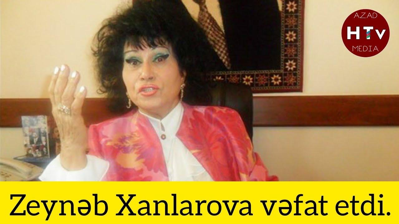 Sos Sos: Zeynəb Xanlarova cəhənəmə vasil oldu. Orxan Ağayev