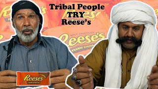 Tribal People Try Reese's Peanut Butter For the First Time