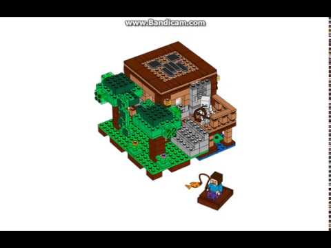 lego minecraft tuto comment faire une maison de marai. Black Bedroom Furniture Sets. Home Design Ideas
