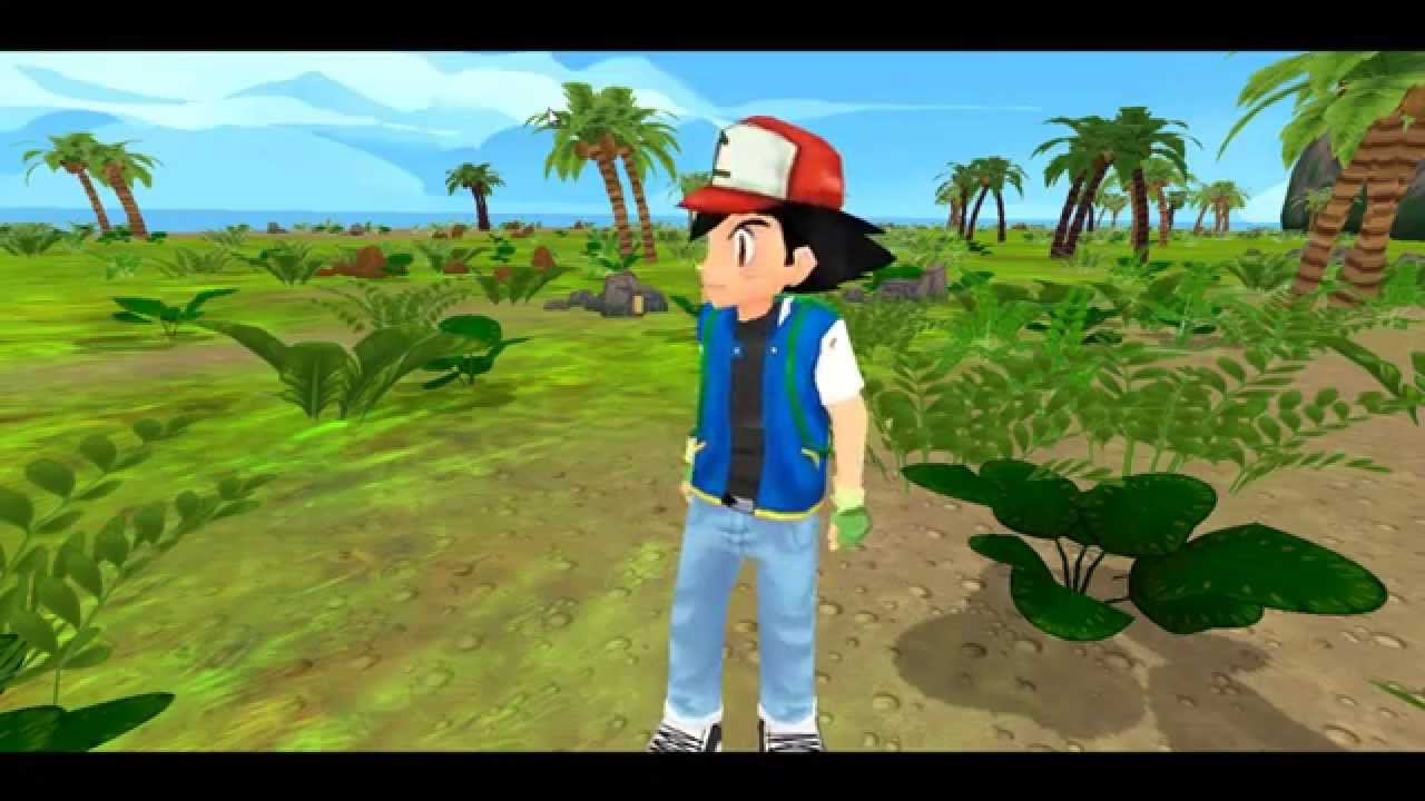 Pokemon the Journey 3D - Game Play Test - YouTube