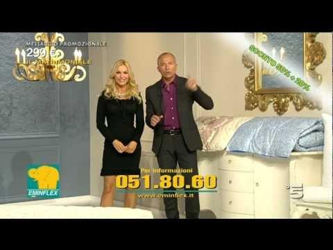 Vendita Materassi In Tv.Televendita Eminflex 2012 Youtube