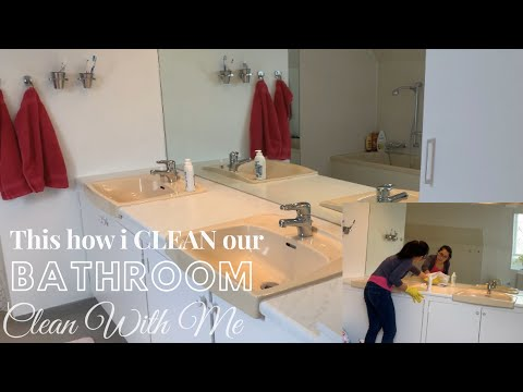 ULTIMATE BATHROOM CLEANING MOTIVATION 2020 | CLEAN WITH ME | DAY IN THE LIFE 🇩🇰