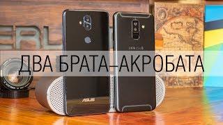 Сравнение смартфонов Asus Zenfone 5 Lite и Samsung Galaxy A6+ - тренды среднего класса во плоти