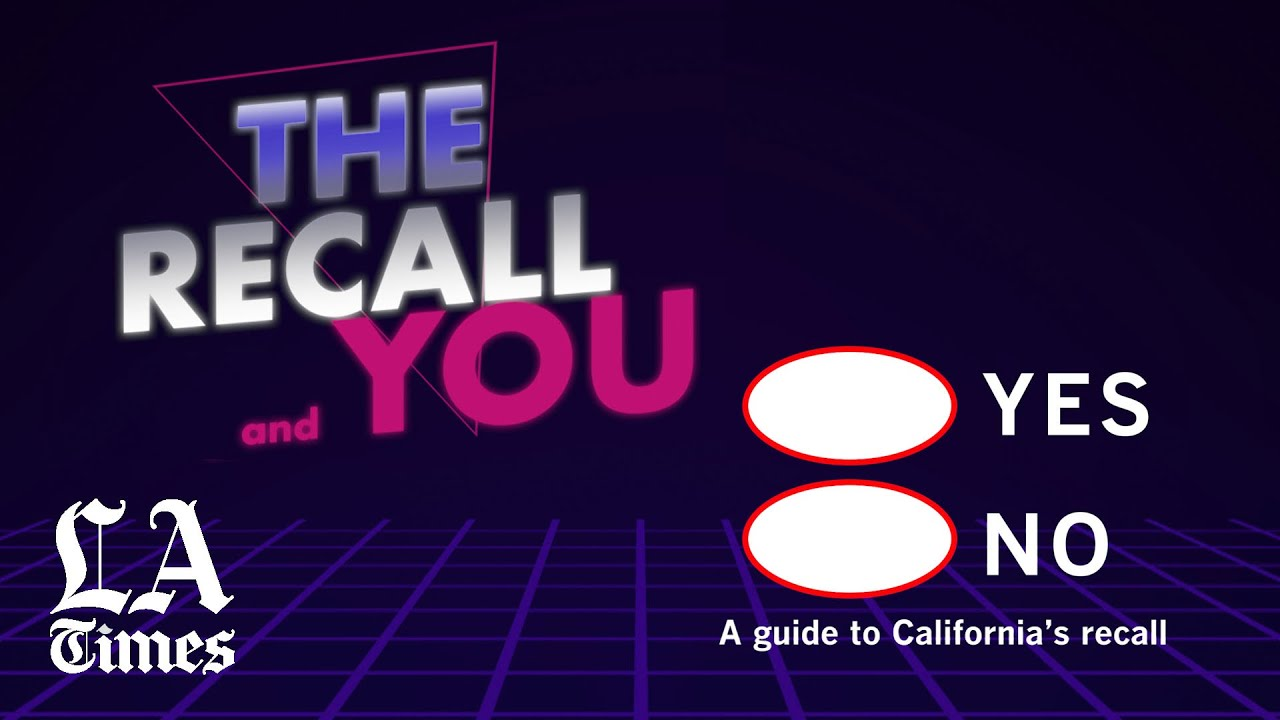 The Most Important Things To Know About California's Recall ...