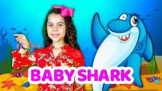 SARAH CANTANDO BABY SHARK - MÚSICA DIVERTIDA PARA CRIANÇAS