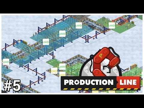 Production Line - #5 - Tier 2 - Let's Play / Gameplay / Construction