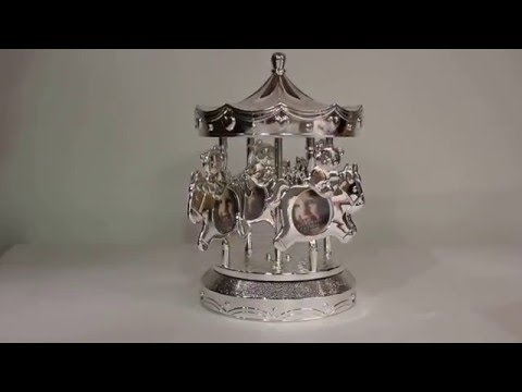 Musical Carousel from Tipperary Crystal