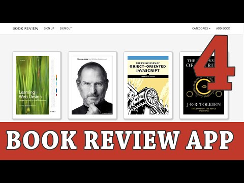 Ruby on Rails Tutorial   Build a Book Review App - Part 4