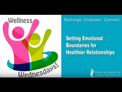 Wellness Wednesdays Setting Emotional Boundaries for Healthier Relationships