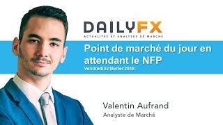 Point de marché du jour en attendant le NFP