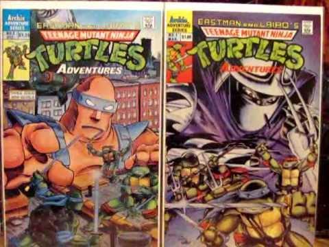 TMNT ADVENTURES ARCHIE COMICS - COMPLETE SET #1-72