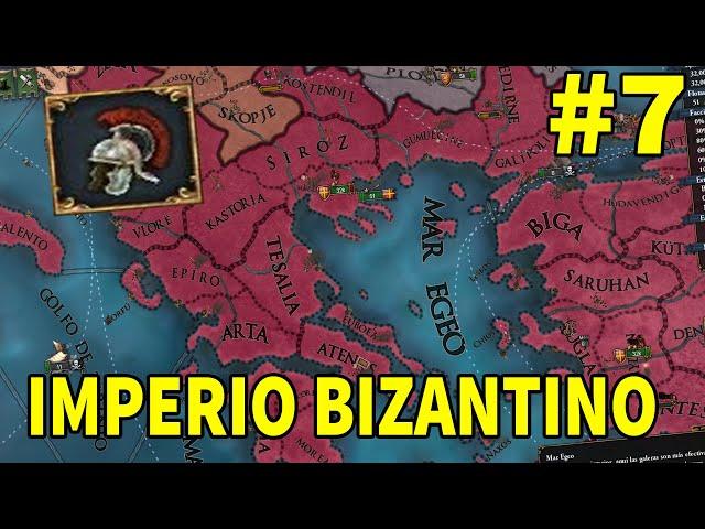 Triunfo en Grecia - Bizancio #7 - Europa Universalis IV 1.31