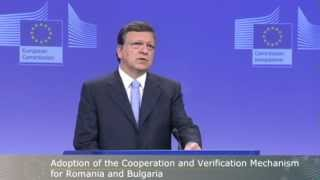 Statement by President Barroso on recent developments in Romania (in context of CVM reports) 18 July